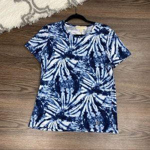 Michael Kors Tie Dye Tee Shirt Size Large